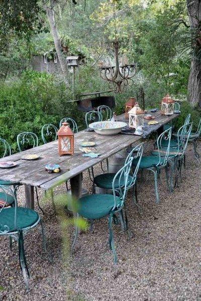 Aut nticas mesas r sticas para exteriores - Mesas para exterior ...