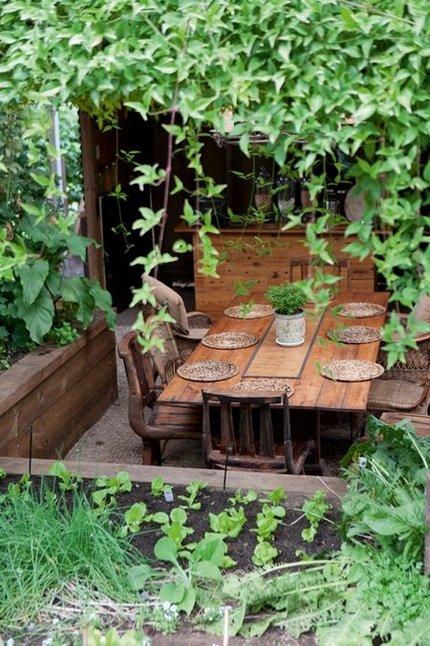 Mesas rústicas de exterior 4