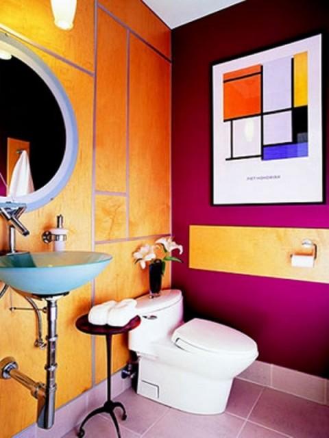 Baños estilo pop art 1