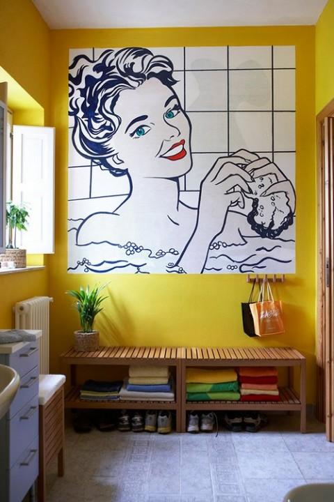 Baños estilo pop art 3