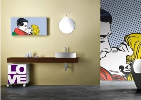 Baños estilo pop art 4