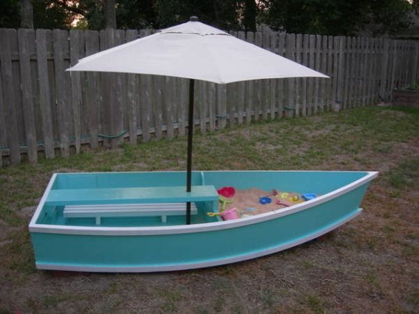 Una canoa para decorar 11
