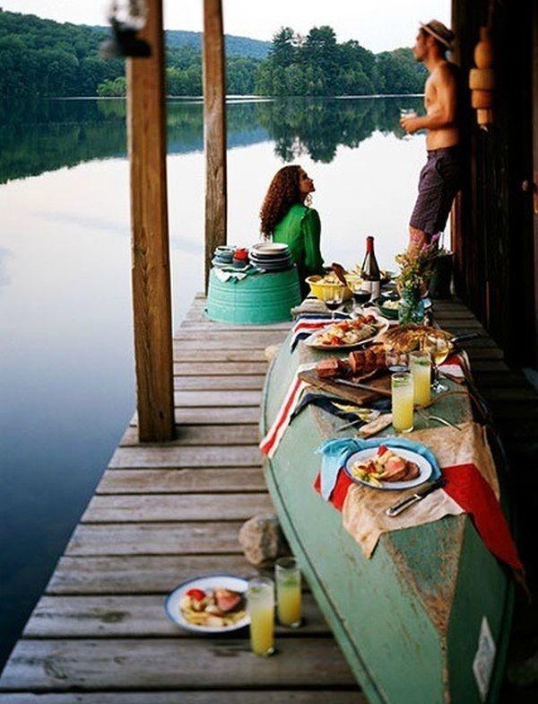 Una canoa para decorar 13