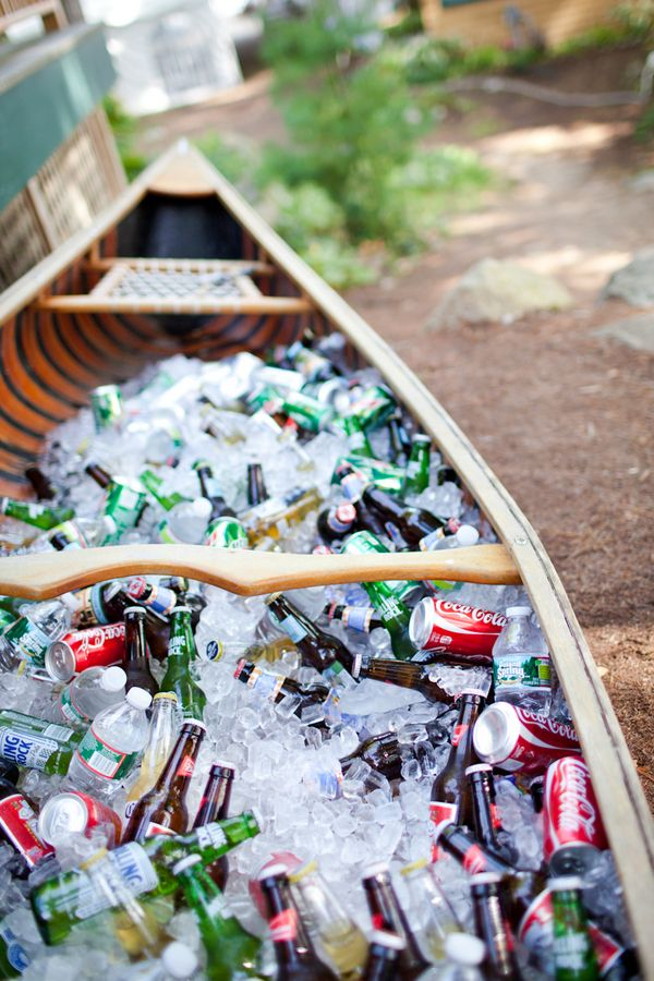 Una canoa para decorar 3