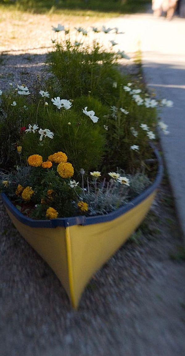 Una canoa para decorar 4