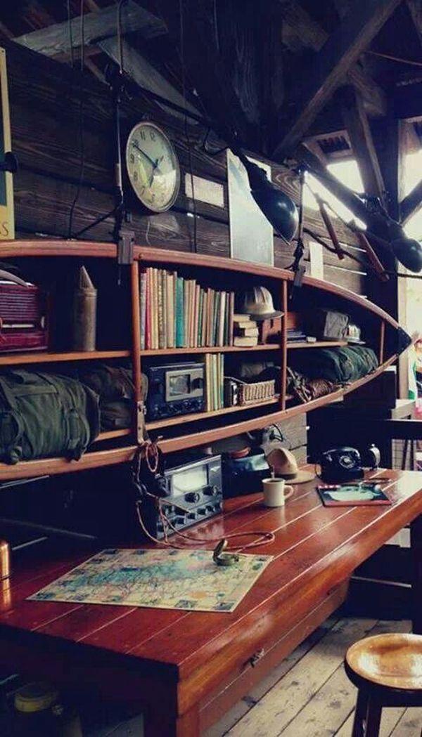 C mo aprovechar una vieja canoa en la decoraci n del hogar for Como decorar una mesa de madera vieja