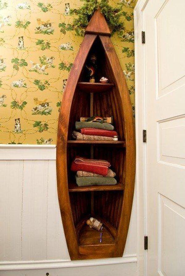 Una canoa para decorar 9