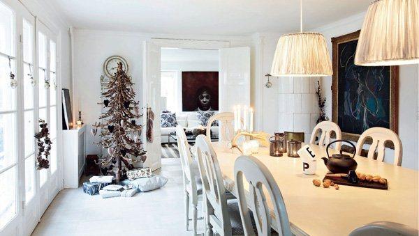 Decoraci n navide a especial de una casa en nordsj lland - Decoracion navidena rustica ...
