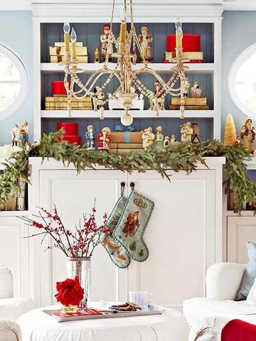 Decoración navidad para espacios pequeños 6