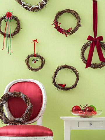 Decoración navidad para espacios pequeños 9