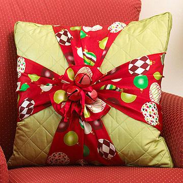 Decoraciones r pidas de navidad - Adornos navidenos de tela ...