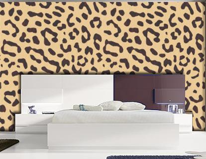 Estampado de leopardo para la pared - Paredes pintadas originales ...
