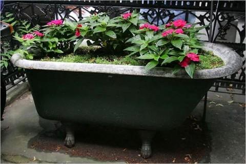 Ideas para reutilizar bañeras 5