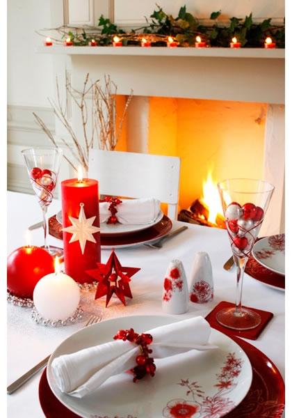 Inspiraci n para la mesa de navidad - Mesas para navidad ...