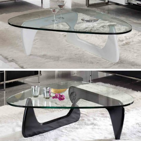 Mesas de centro modernas y circulares for Mesas bajas de salon