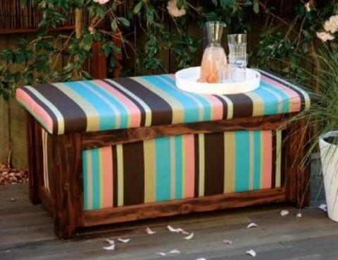Recicla objetos de madera como mesa de caf - Decorar reciclando muebles ...