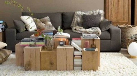 Ideas de reciclaje para mesas de centro 6