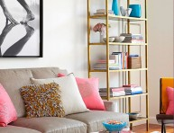 imagen Ideas de almacenamiento en color dorado