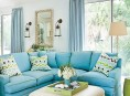imagen Una vivienda más luminosa con el color azul turquesa