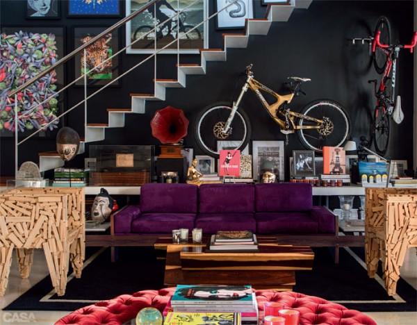 Bicicleta en la decoración