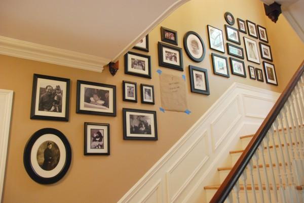 Planificar la decoración de la escalera