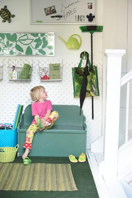 Casas organizadas con niños