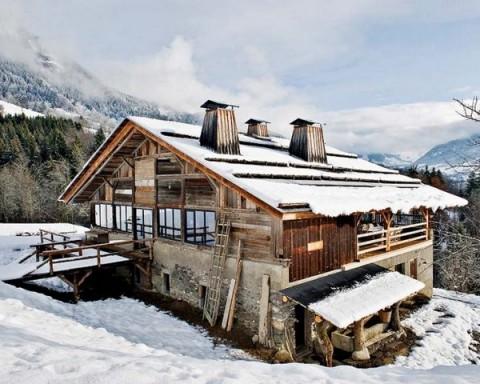 Cabaña de diseño en los Alpes 2