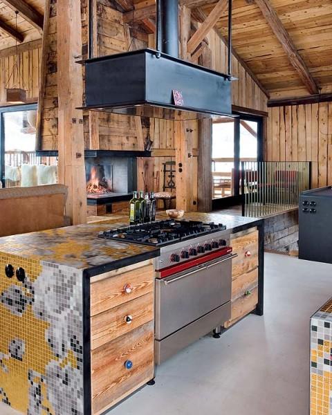 Cabaña de diseño en los Alpes 6
