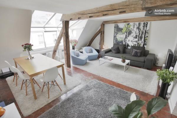 Bellos apartamentos parisinos 1
