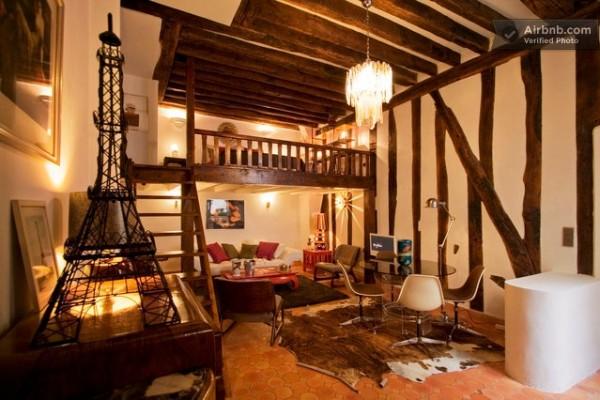 Bellos apartamentos parisinos 5