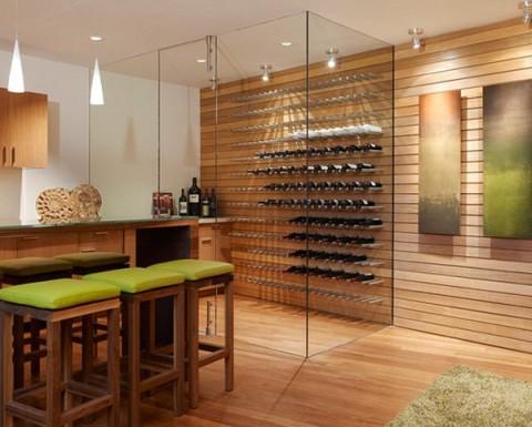 bodegas integradas en el comedor. Black Bedroom Furniture Sets. Home Design Ideas