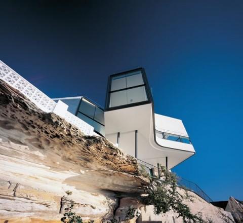 Una casa inusual en un acantilado 2