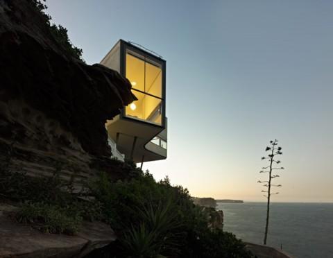 Una casa inusual en un acantilado 7