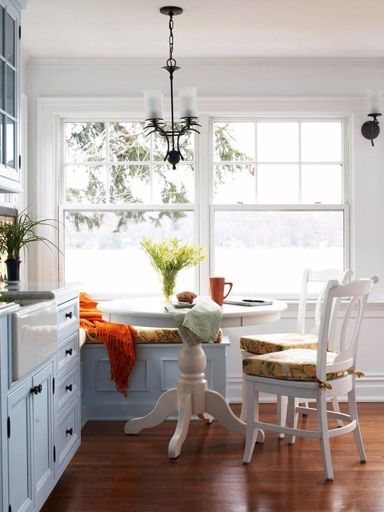 Ideas para tener un comedor en la cocina 6