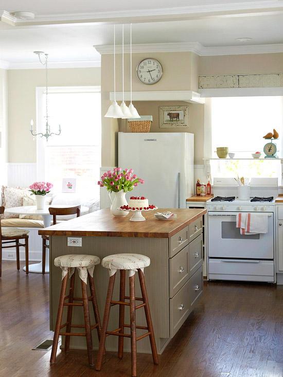 Ideas para tener un comedor en la cocina 8