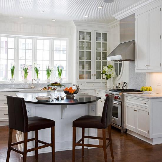 Ideas para tener un comedor en la cocina 9
