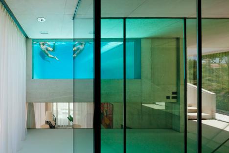 La piscina como parte de la casa 5
