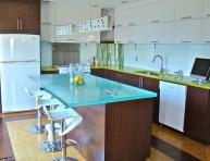imagen Encimeras de cristal, una opción para la cocina