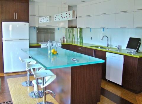 Encimeras de cristal una opci n para la cocina - Encimeras de cocina de cristal ...