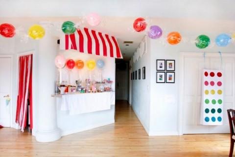 Habitaciones decoradas con dulces y caramelos 2
