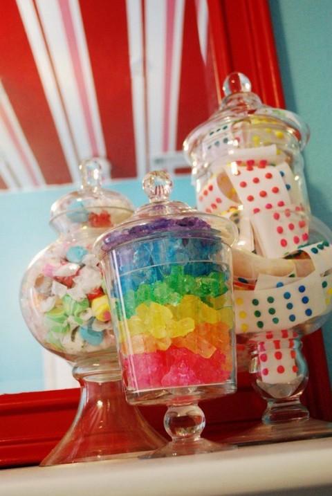 Habitaciones decoradas con dulces y caramelos 4