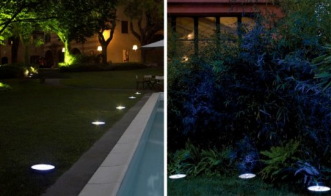 Luces led para exteriores for Luces jardin
