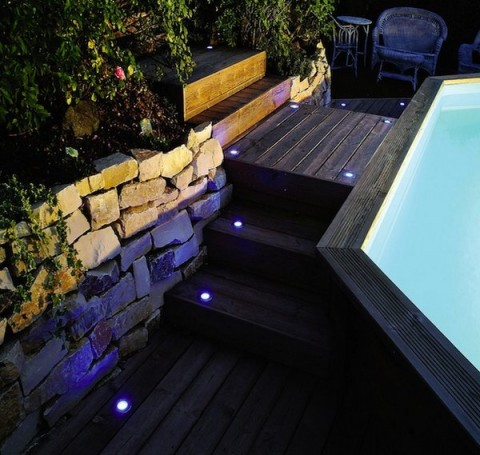 Decorar con luces LEDS los exteriores 4