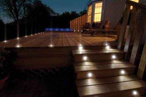 Decorar con luces LEDS los exteriores 5