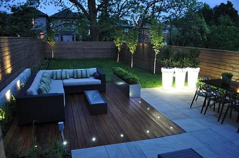 Decorar con luces LEDS los exteriores 6