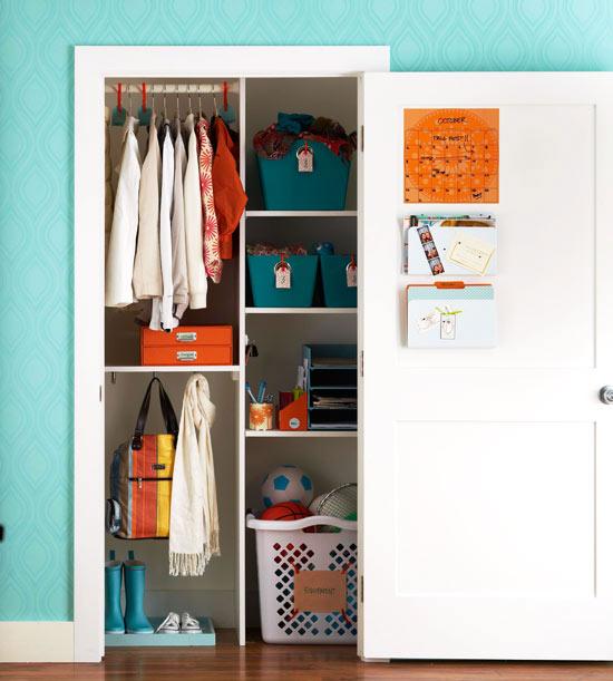 Organiza el armario del recibidor 1