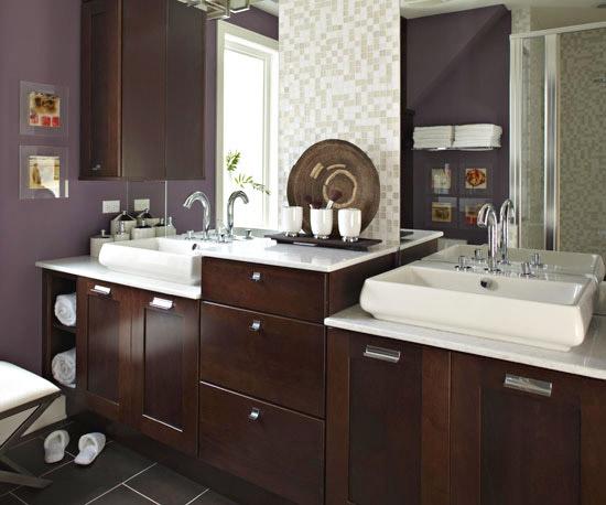 Paletas de color para cuartos de ba o for Cuartos de bano elegantes