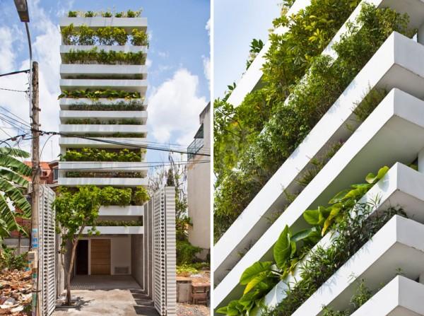 Una casa donde se vive entre plantas 1