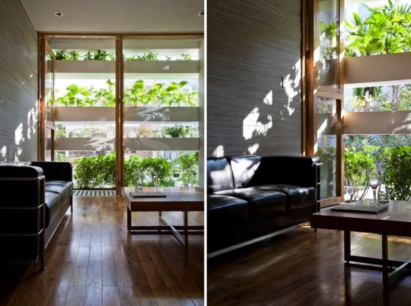 Una casa donde se vive entre plantas 2