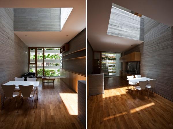 Una casa donde se vive entre plantas 3